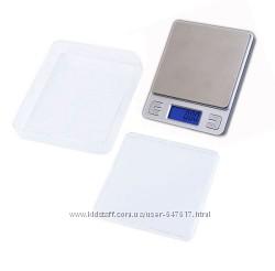 Профессиональные ювелирные весы Ks-386 до 3 кг шаг 0, 1, 2 чаши