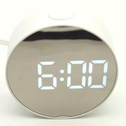 Зеркальные Led часы Dt-6505 с будильником и термометром