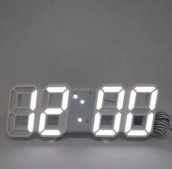 Электронные Led часы с будильником и термометром Ly 1089