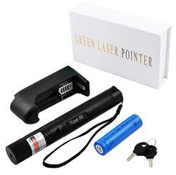 Лазерная указка Laser pointer Jd-303 Green с аккумулятором