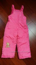 Зимние теплые лыжные штаны CARTERS 3Т 3 года, 4 года, комбинезон