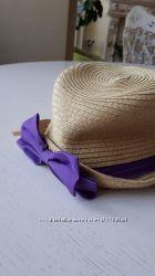 Шляпа для девочки соломенная с бантиком, Childrens Place, LG, 2-4 года