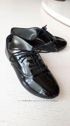 Туфли черные лоферы Crazy 8, лаковые, 13 размер, 19 см, USA 13, 29-30 разме