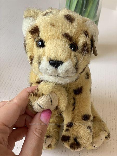 Мягкая игрушка, леопард, лев, коллекционная