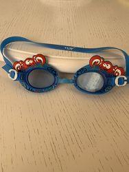 Очки для плавания детские Joss, краб, 3-8 лет