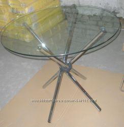 круглый стеклянный стол Тог стол 90см Имз 80см  см стол Т-316