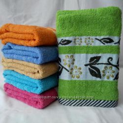 Махровые полотенца кухонные, лицевые и банные