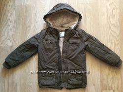 Куртка парка демисезон mothercare мальчик