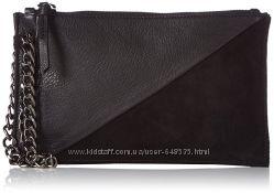 Женская кожаная сумочка барсетка кошелек Black lily Дания