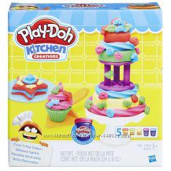 Набор для лепки плей до Play-Doh Kitchen Creations Frost. n Fun Cakes