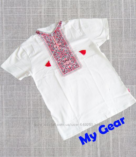 Мужская футболка вышиванка Країна Мрій
