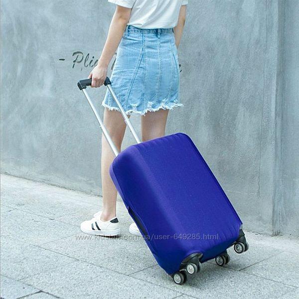 Чехол для защиты чемодана от царапин размер L