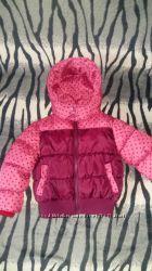 Курточка для девочки на рост 116-122