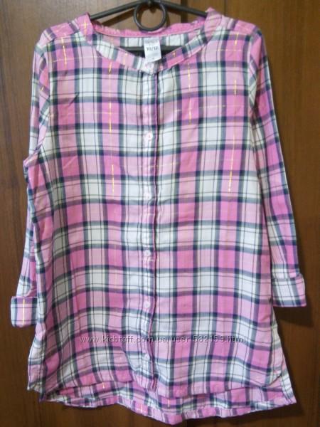 Новая фланелевая рубашка Картерс, размер 10-12