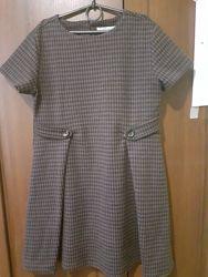 Теплое платье Зара, 13-14 лет. На рост 140-152.