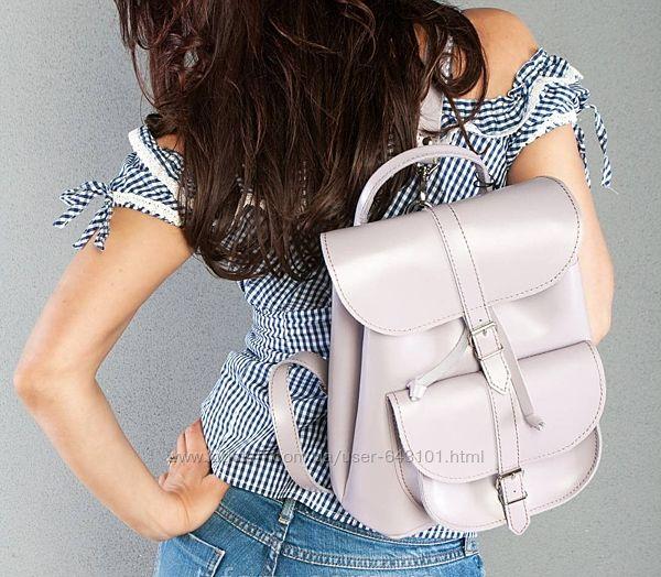 Мега удобный кожаный рюкзак . Много цветов и моделей .