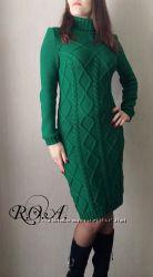 Вязаное платье. Ручная работа