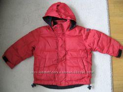 Куртка пуховик пух Gap xxs на 3-4г