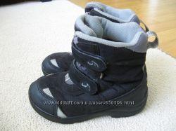 Зимние кожаные термо ботинки Viking мембрана Gore-Tex 29р. 18, 5 стелька.