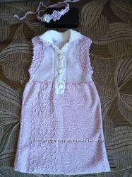 Бавовняна сукня до півтора року