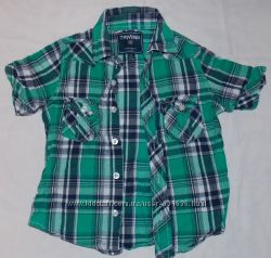 Продам хлопковую рубашку Terranova на мальчика