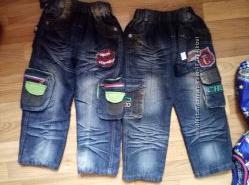 Качественные плотные джинсы для мальчиков, 3-4 года.