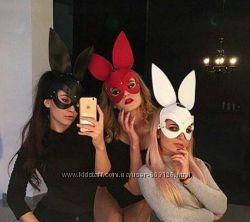 Маска зайки, портупея, маска зайца, маска кролик, бельё, маска кошки