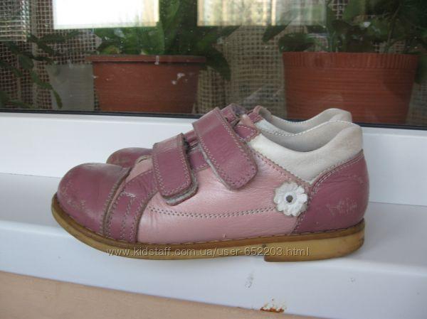 Кожаные туфли ортопедические ecoby