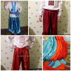 Прокат украинский костюм, зошит, гомик, мишка, рубашки, шаровары, фиксик, с