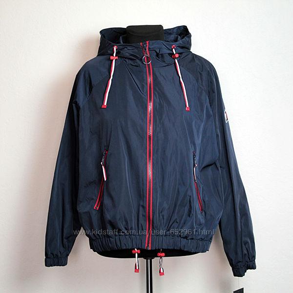 Супер скидка Tommy Hilfiger куртка-ветровка р. S-M оригинал из США