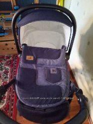 Коляска Cam Combi Family Duo 2 в 1 Италия джинс
