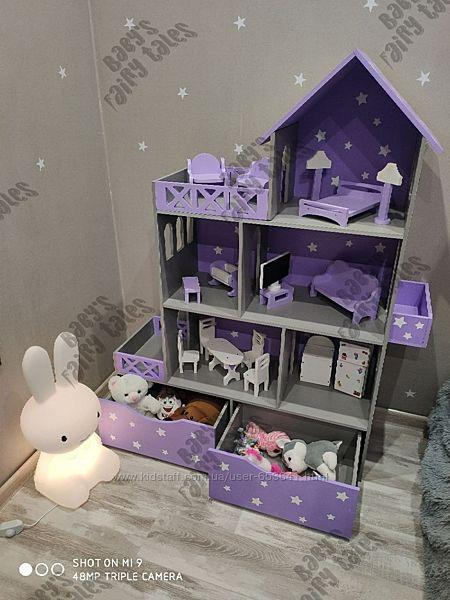 Кукольный домик Lok, monster hight, Barbie