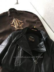 Roberto Cavalli 44 куртка кожа, эксклюзив