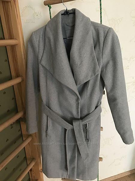Пальто деми серое  Vero moda м