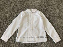 Нарядная белая  блузка Next  р 10, 11, 12, 13 , 14