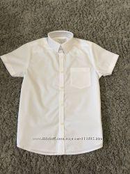 Рубашка  Next р 6, 7, 8, 9. 10. 11. 12. 13. 14 белая