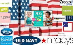 Выкуп Америка под минус H&M-20, Carters-25, GAP-50, OldNavy-25, 6pm, Crocs