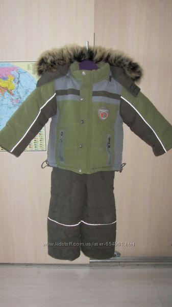 Зимний комбинезон на рост 95-110 см