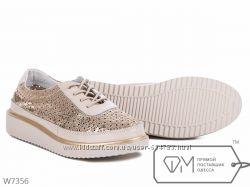 Кеды летние AllShoes кожа