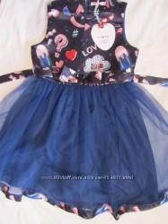 Нарядные платья для девочек-подростков р. 40, 42 Италия