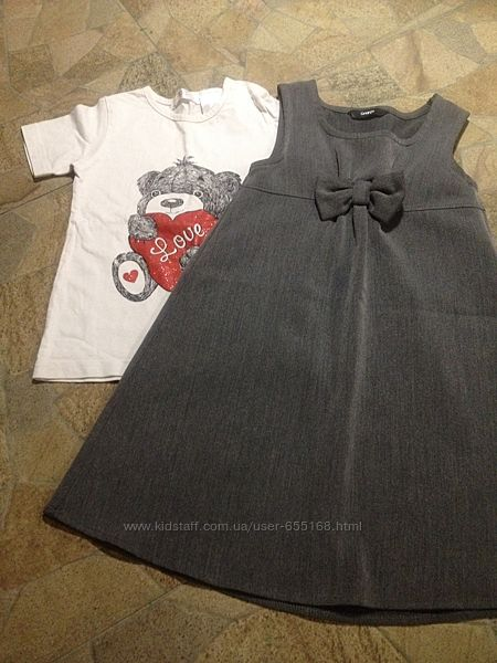 Сарафан и футболка в подарок