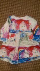 платье реплика детский рисунок 5Т