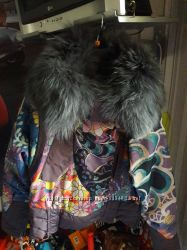 Куртка с натуральным мехом.