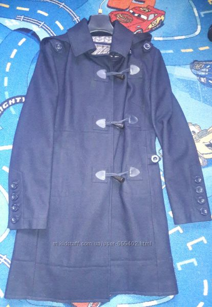 Пальто шерстяное Mango