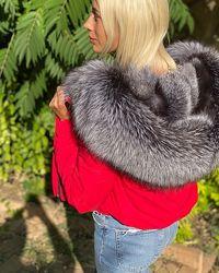 Стильные бампера куртки с натуральным мехом, огромный выбор, XS-XL