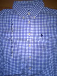 Рубашка  Ralph Lauren  на 10-12 лет, р. 152-158