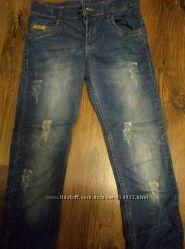Модные джинсы узкачи