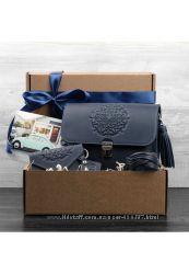 Подарочный набор аксессуаров сумка, кардкейс, бласлет, брелок