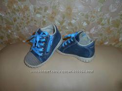 Ботинки кроссовки детские деми Ессо кожа, р. 21 ст. 13, 5 см.