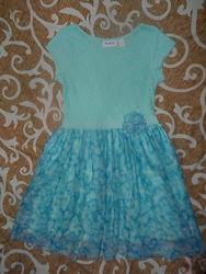 Нарядное платье childrens place, 7-8 лет